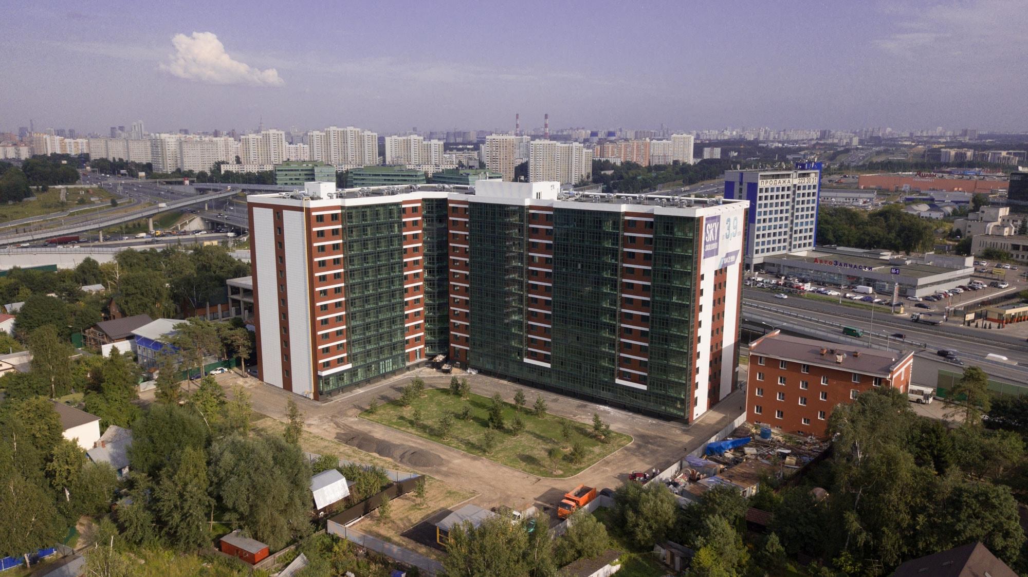 """Апартаменты """"Sky Skolkovo»"""" (Скай Сколково) от Строительная компания «СтройПрофиль-М» - планировки, цены"""