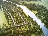 """Коттеджный поселок """"Сосновый берег. Занарское"""" от Красивая Земля - планировки, цены"""
